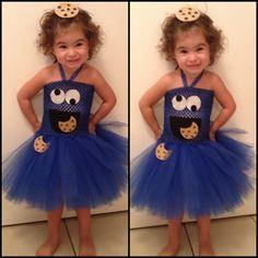 Toddler Cookie Monster costume. Halloween