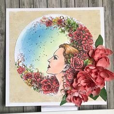 Igår kom det en ny underbar digistämpel från Aurora Wings, bara älskar ju Mitzi's stämplar Flower Moon heter denna ljuvliga digi, b...