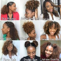 Hairstyles on Natural Hair//  #curlylockschronicles #berrycurly #teamnatural #kinkychicks #hair2mesmerize #myhaircrush #naturalchixs