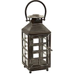 @Overstock - Create a romantic atmosphere with this Regent candle lantern. Handmade with wrought iron and glass, this candle lantern features an English telephone booth design.http://www.overstock.com/Home-Garden/Regent-English-Telephone-Booth-Small-Candle-Lantern/5179019/product.html?CID=214117 $51.99
