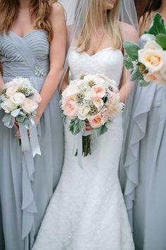 www.StyleInspirationandDesign.com Dusk Blue Bridesmaid Dress Inspiration