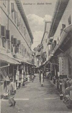 Former Empire of Oman Zanzibar.