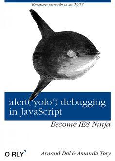 alert debugging in JavaScript