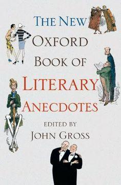 The New Oxford Book of Literary Anecdotes | Bookz Ebookz