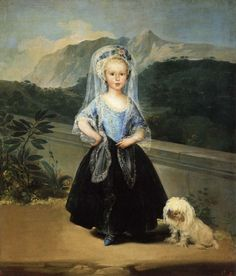 Francisco de Goya  Portrait of María Teresa de Borbón y Vallabriga, Countess of Chinchón (1783)    Museo del Prado, Madrid