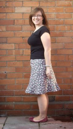 Handmade by Rebekah Simplicity Patterns, Sequin Skirt, Sequins, Floral, Skirts, Handmade, Fashion, Couture Trends, Moda
