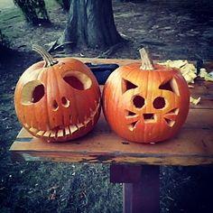 Halloween date idea: Carve pumpkins
