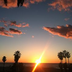 The winter gives Santa Monica some of the most beautiful sunsets!    See more on Instragram at @SeeSantaMonica!