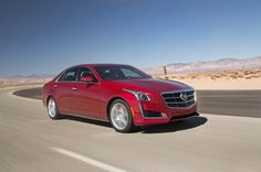2014 Motor Trend Car of the Year Contender: Cadillac CTS - Motor Trend WOT
