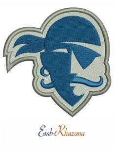 Seton Hall Pirates Logo embroidery design