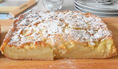 Tart Recipes, Sweet Recipes, Cooking Recipes, Apple Tart Recipe, Bread And Pastries, No Cook Desserts, Easy Snacks, Sin Gluten, Food And Drink