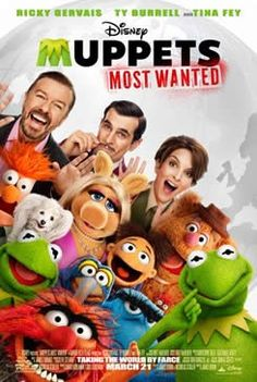 """Muppets Most Wanted: Movie Details, Release Date and Trailer - Disney's """"Muppets Most Wanted"""" takes the entire Muppets gang on a global tour, selling out grand theaters in some of Europe's most exciting destinations, including Berlin, Madrid and London. Release Date: March 21, 2014"""