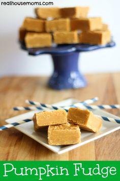 Pumpkin Fudge | Real Housemoms | Delicious Fall Dessert