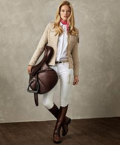 Kicked in the Head: The Equestrian Helmet Women's Equestrian, Equestrian Outfits, Equestrian Fashion, Mode Style Anglais, Riding Breeches, Riding Boots, Horse Fashion, Country Fashion, Mode Inspiration