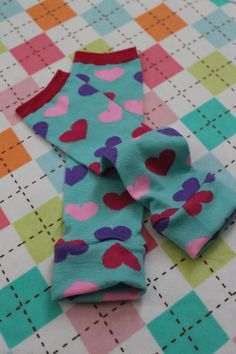 Valentine's Legwarmers for Baby and Toddler by gentryscloset, $8.00