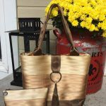 Seat Belt Market Tote pattern and project kits | cozy nest design