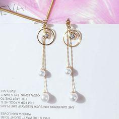 Fancy Jewellery, Fancy Earrings, Gold Earrings Designs, Girls Earrings, Stylish Jewelry, Simple Earrings, Ear Earrings, Fringe Earrings, Ear Jewelry