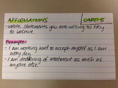 Relapse Prevention Cards - UnitingCare ReGen
