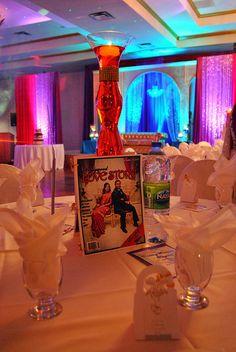 """Bollywood Love Story"" Themed Wedding Reception"
