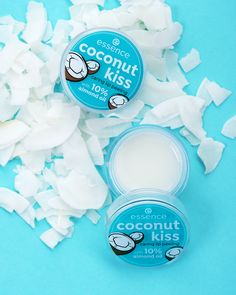 """Make your lips sweet and fresh like coconut milk! The """"Coconut kiss"""" caring lip peeling is infused with almond oil and provides deep-care for your lips. Essence Makeup, Essence Cosmetics, Body Mist, Acne Skin, Lip Care, Liquid Lipstick, The Balm, Beauty Hacks, Make Up"""