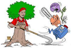 """Enfrentar os agrotóxicos: um outro mundo é possível, artigo de Roberto Naime. """"No Brasil, os números impressionam. Dados da Agência Nacional de Vigilância Sanitária (ANVISA) do ano de 2013 registram que 64% dos alimentos estão contaminados por agrotóxicos."""""""