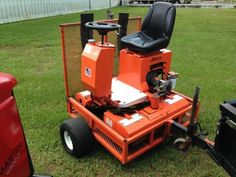 2003-Salsco-Greens-Roller-with-Trailer-8hp-Honda-Engine