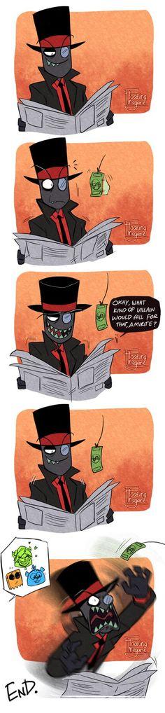 Doodle || Villainous - Black Hat IS Grunkle Stan by FloatingMegane-san