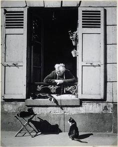 Concierge Paris 1946 Brassaï