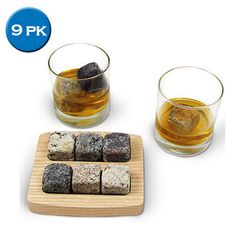 Whiskey Ice Stones : $9.88 + Free S/H (reg. $49.99)  http://www.mybargainbuddy.com/whiskey-ice-stones-9-88-free-sh