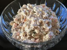 Russian meat salad as my husband makes it - Fleisch Veggie Recipes, Wine Recipes, Salad Recipes, Tuscan Recipes, Meat Salad, Cold Dishes, Christmas Dishes, Hungarian Recipes, Fast Food Restaurant