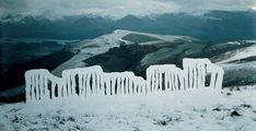 Andy Goldsworthy – Ice – Installation Art Blog