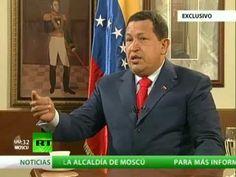 A Solas con Hugo Chávez, presidente de la República de Venezuela