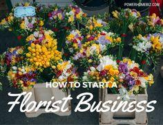 Starting a flower shop or florist business