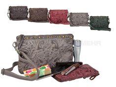 Billy The Kid MAROKKO - Leder Schultertasche Fatima Damentasche Handtasche - 5 Farben