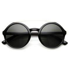 Retro Fashion Round Circle Steampunk Fashion Sunglasses 8935