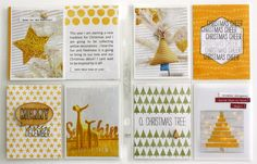 Project Life by Stampin' Up! Hello December collection by Kim Jeffress.  Perfect for documenting your holidays.