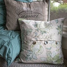 Make this simple envelope pillow to update your decor. Tutorial included.