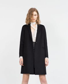 Image 3 of HAND MADE COAT from Zara