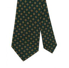 Drake's Silk Print Tie / SidMashburn.com