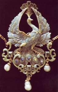 Art Nouveau jewellery. Philippe Wolfers (1858 - 1929