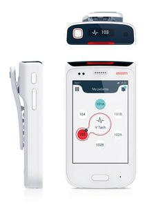 he Ascom Myco is a purpose-built smartphone for health care, allowing caregivers…