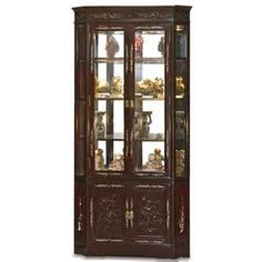 Curio Cabinets   Bing Images