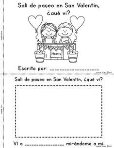 Valentine's Day Mini-Book (Spanish)