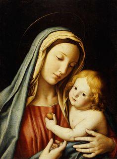 1-the-madonna-and-child-il-sassoferrato.jpg (663×900)