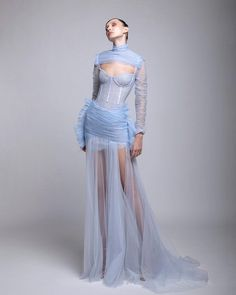 Style Haute Couture, Couture Fashion, Runway Fashion, High Fashion, Fashion Show, Fashion Design, Looks Chic, Looks Style, Dream Dress