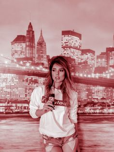 Duotone effect  #model #portret  #googlepixel #fashion #nyc #shooting #style #work #ny #fashion #pepsi #pink #comercial Roxana Niculae