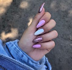 May Nails, Aycrlic Nails, Shiny Nails, Nail Manicure, Hair And Nails, Blush Nails, Fire Nails, Best Acrylic Nails, Dream Nails