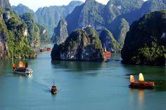 Halong Bay - Quang Ninh province, Vietnam.