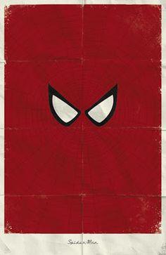 Minimalist Spider-Man Poster