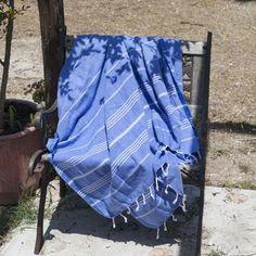 Ręcznik Sultan niebieski